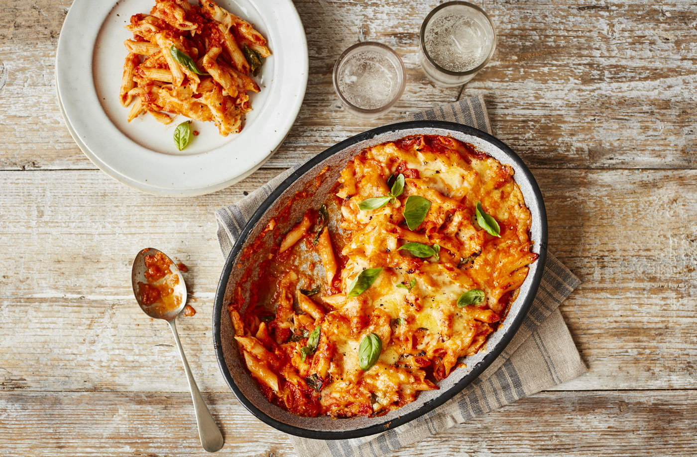 Pasta Bake Recipe Tomato Pasta Recipes Tesco Real Food