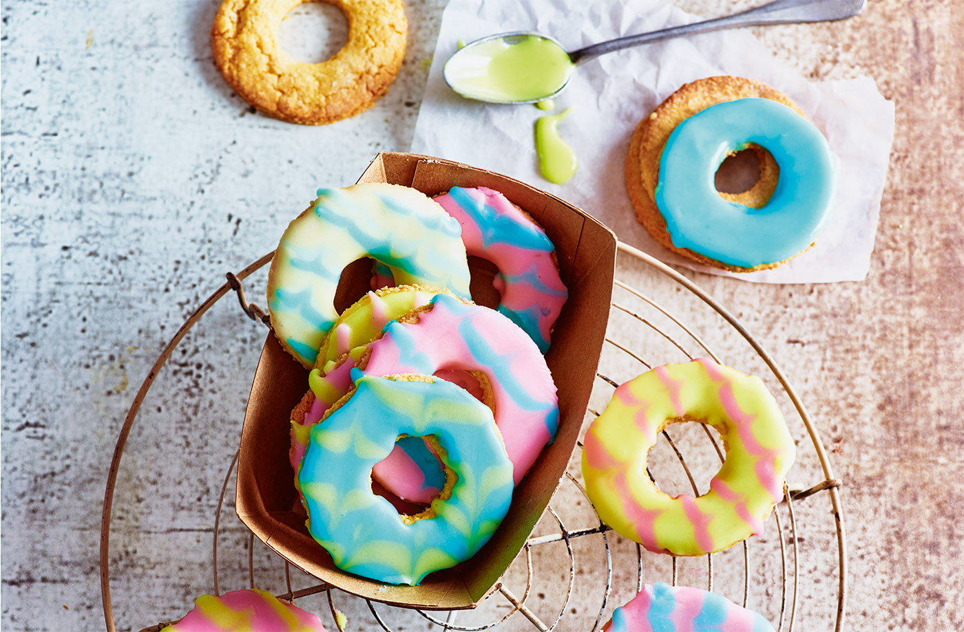 Coconut party rings recipe