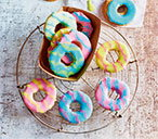 Coconut party rings