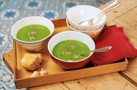 Tuesday: Pea and ham soup