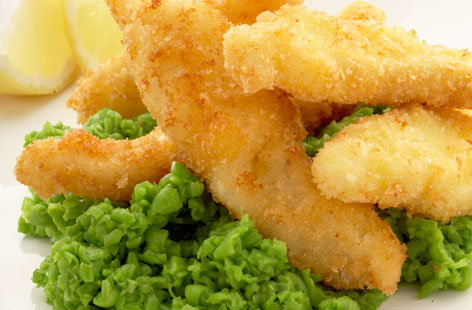 Pea Puree and Fish Goujons 07 (h)