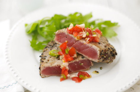 Peppercorn crust tuna steaks hero 35a35e67 8985 4b64 83ac 86d41436cf5d 0 472x310