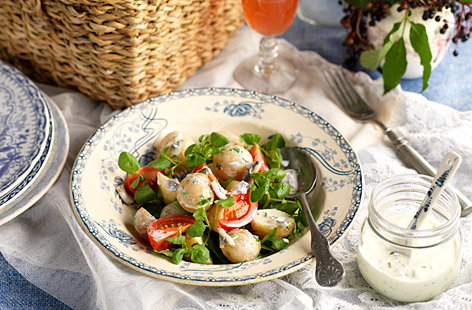 Picnic watercress potato & tomato salad 0001 (t)
