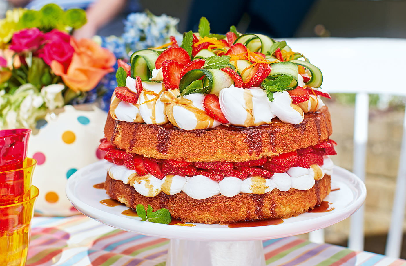 Tesco Pimms Layer Cake