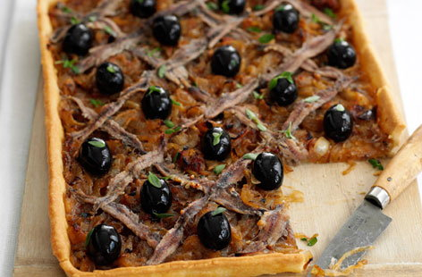 Pissaladiere (French onion pizza)
