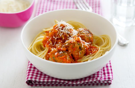 Kids love meatballs and these pork and rosemary meatballs won't be an ...
