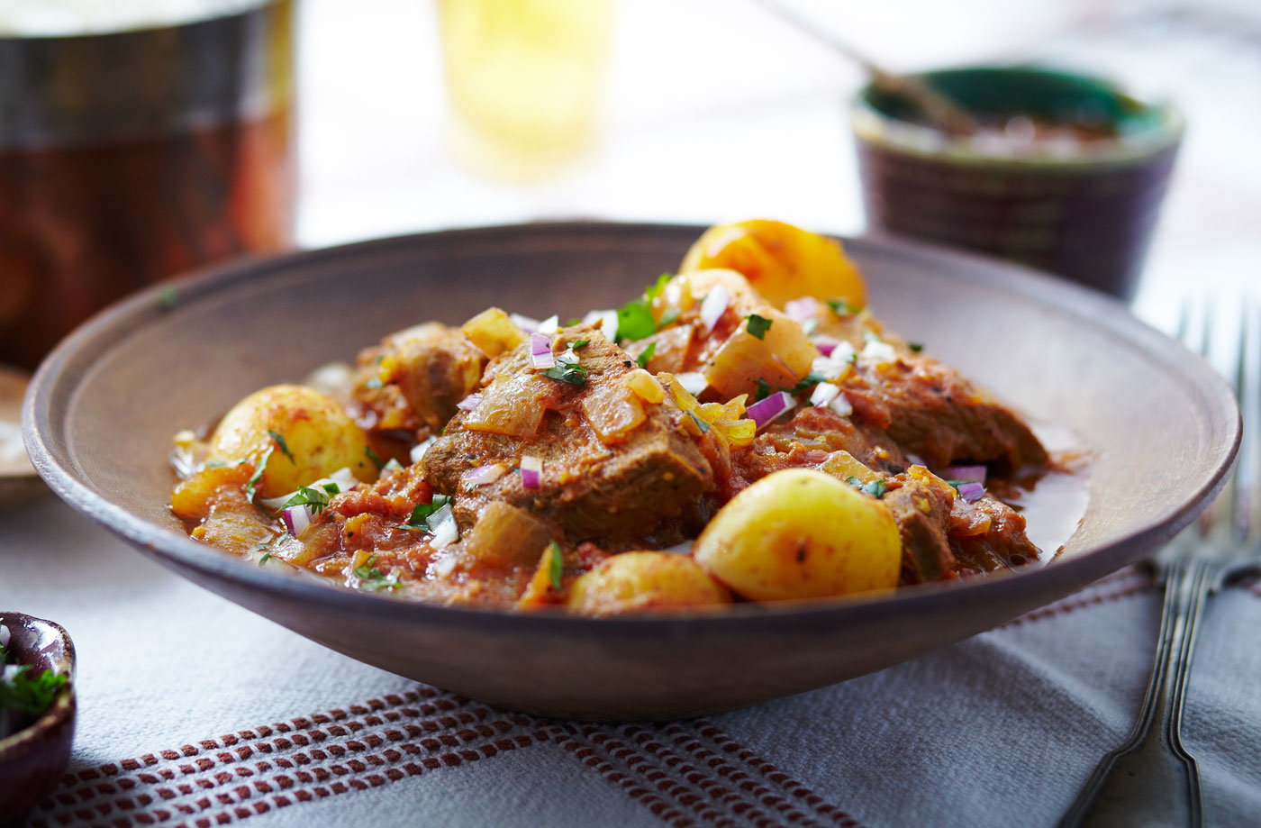 What to cook for a pork dinner: a recipe for Indian dishes