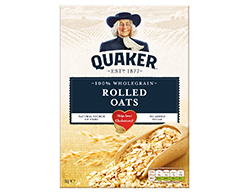 Quaker Traditional Rolled Oats100% wholegrain rolled oats, no artificial flavours, no artificial colours