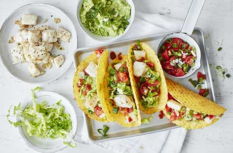 Ready in under 30 minutes, these Mexican-inspired speedy fish tacos are perfect for a midweek family meal