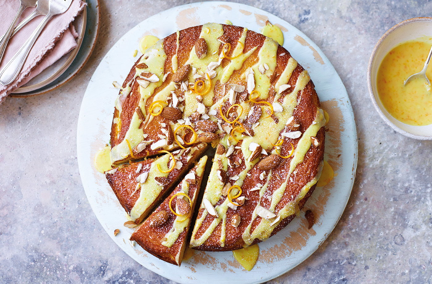 Whole orange and almond cake recipe