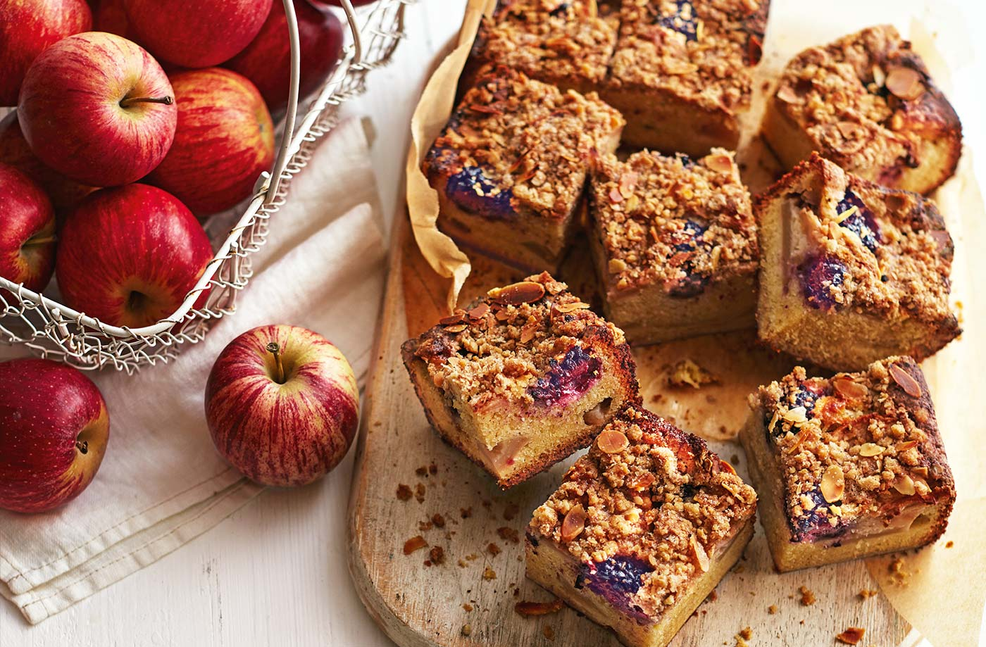 Find a new fruit crumble recipe the whole family will love, from classic apple crumble to new flavour twists.