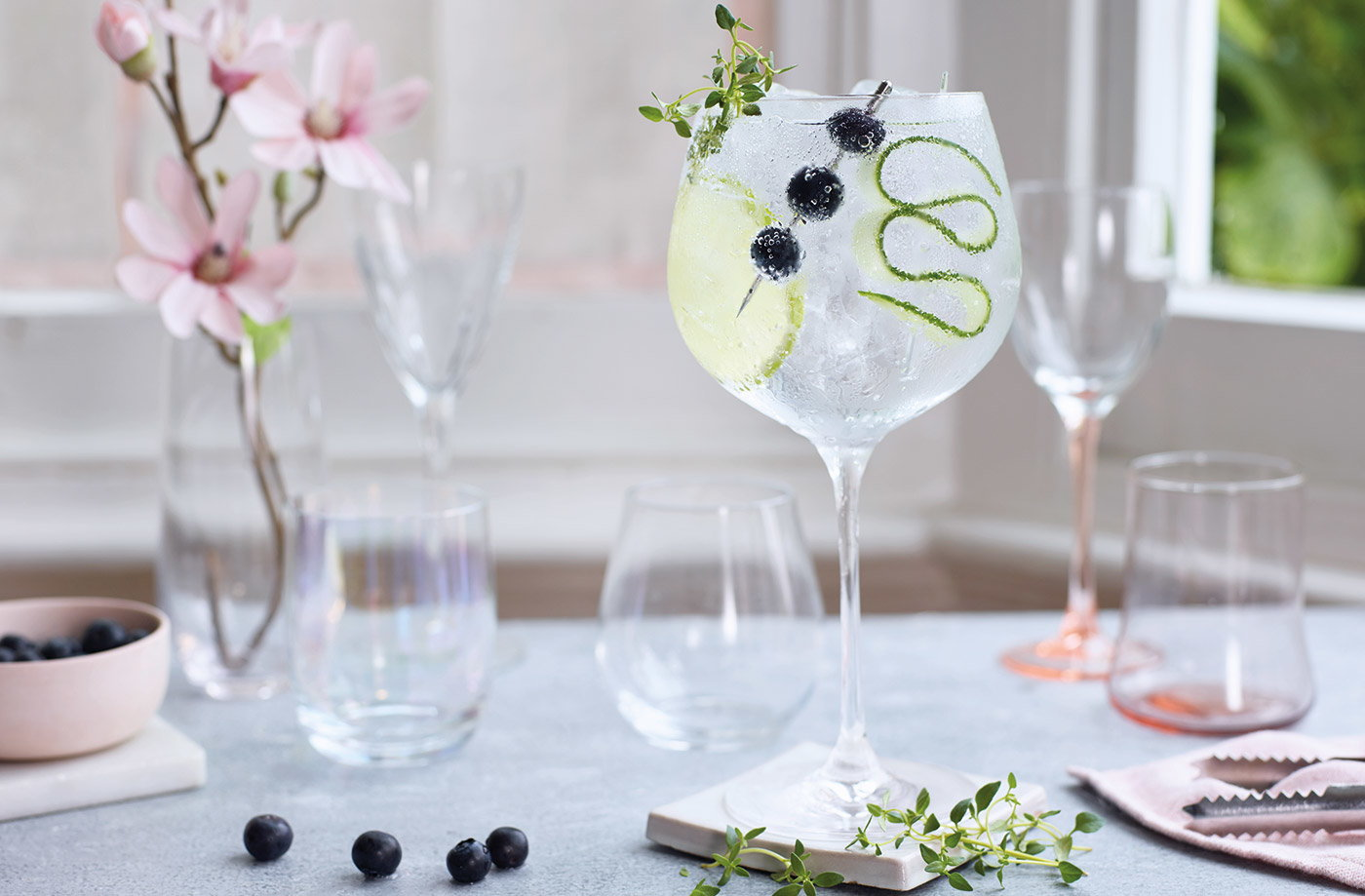Sparkling gin cocktail recipe