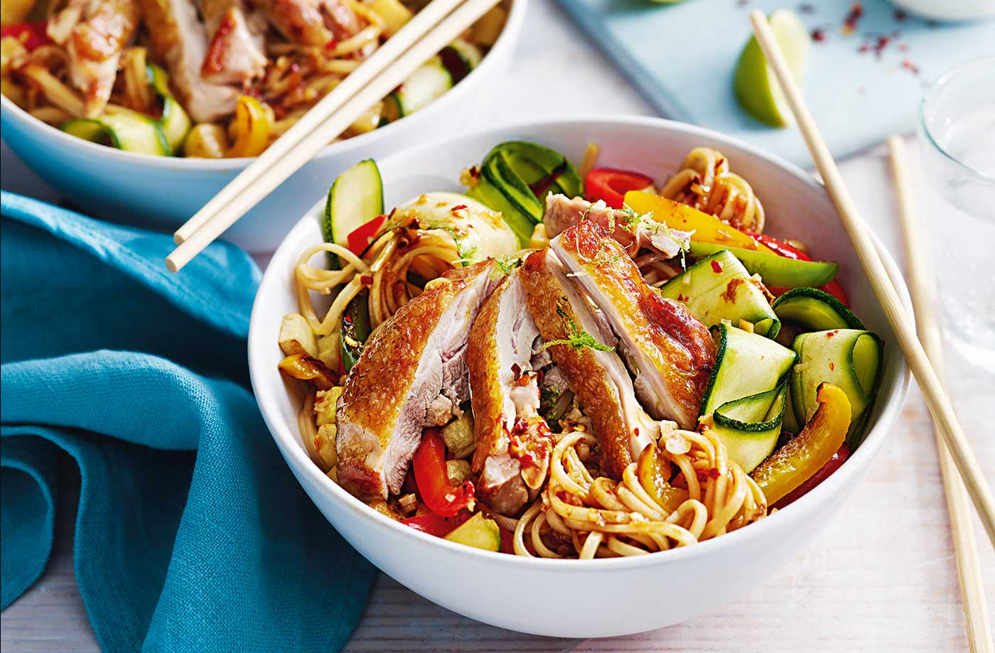 Bang Bang Chicken Noodle Stir Fry Stir Fry Recipes Tesco Real Food