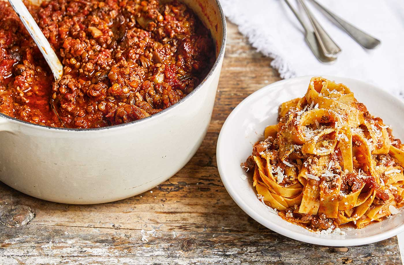 Batch-it-up family Bolognese recipe