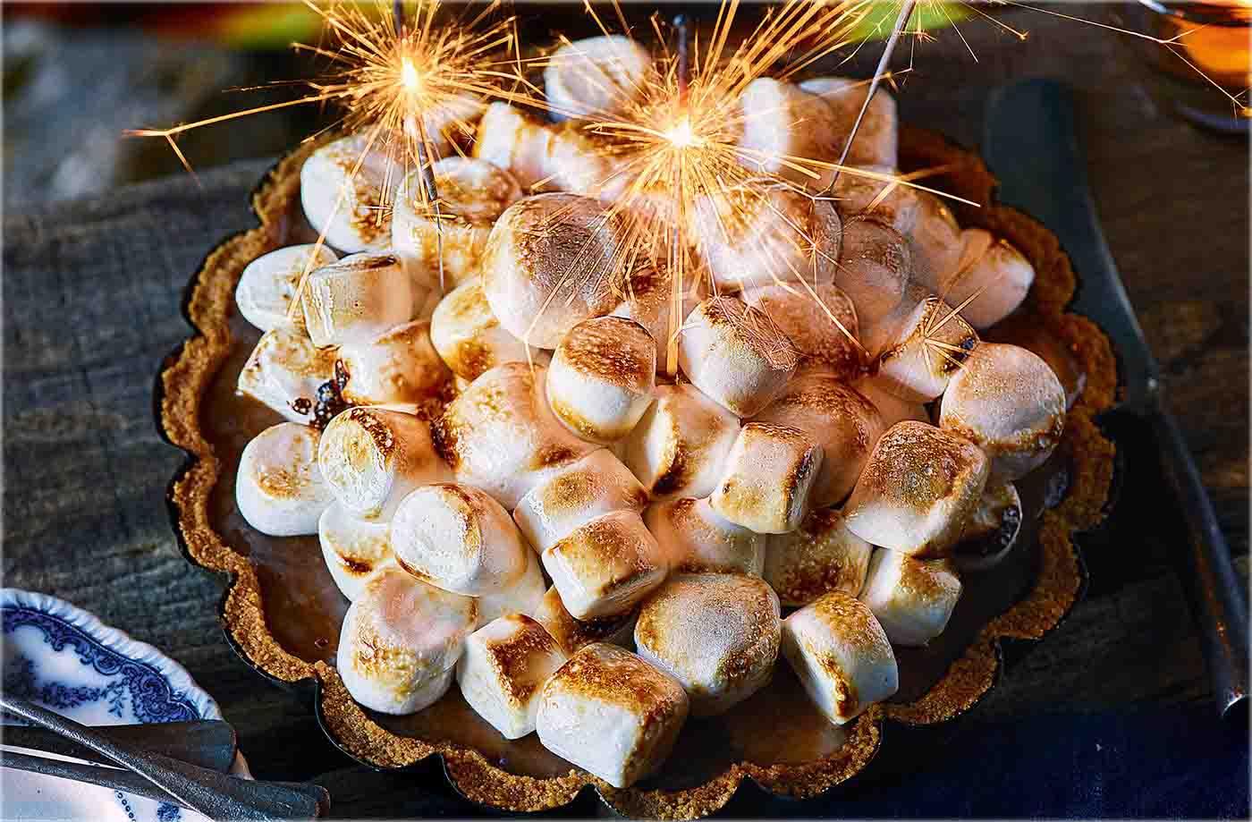 bonfire banoffee pie recipe bonfire night food tesco real food