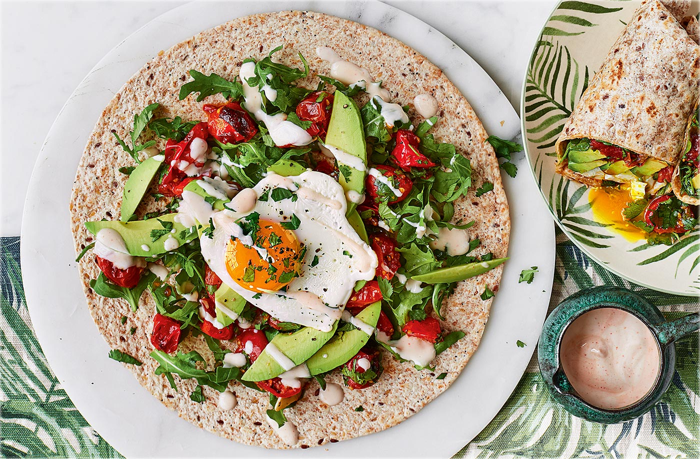 Vegetarian recipes vegetarian meal ideas tesco real food avocado and egg breakfast burrito forumfinder Images
