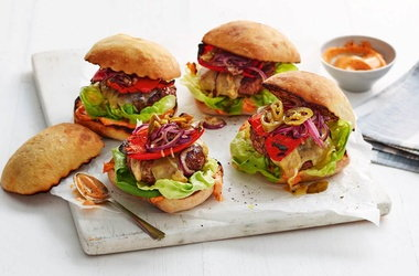 Dee's 'fingers crossed' paprika burgers