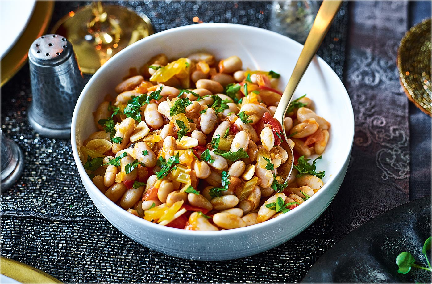 Cannellini beans with rosemary and garlic recipe