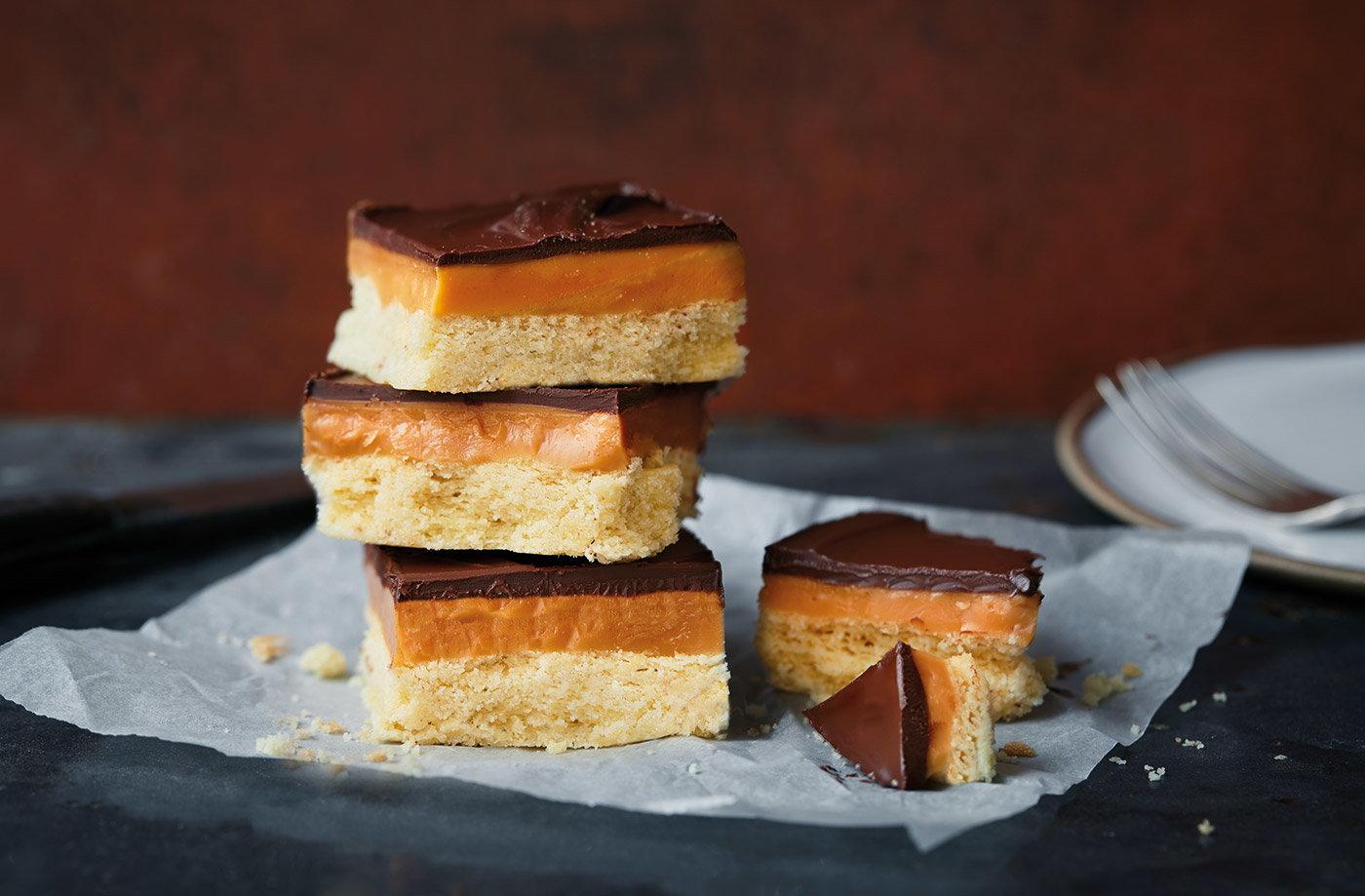 Salted Caramel Millionaires Shortbread