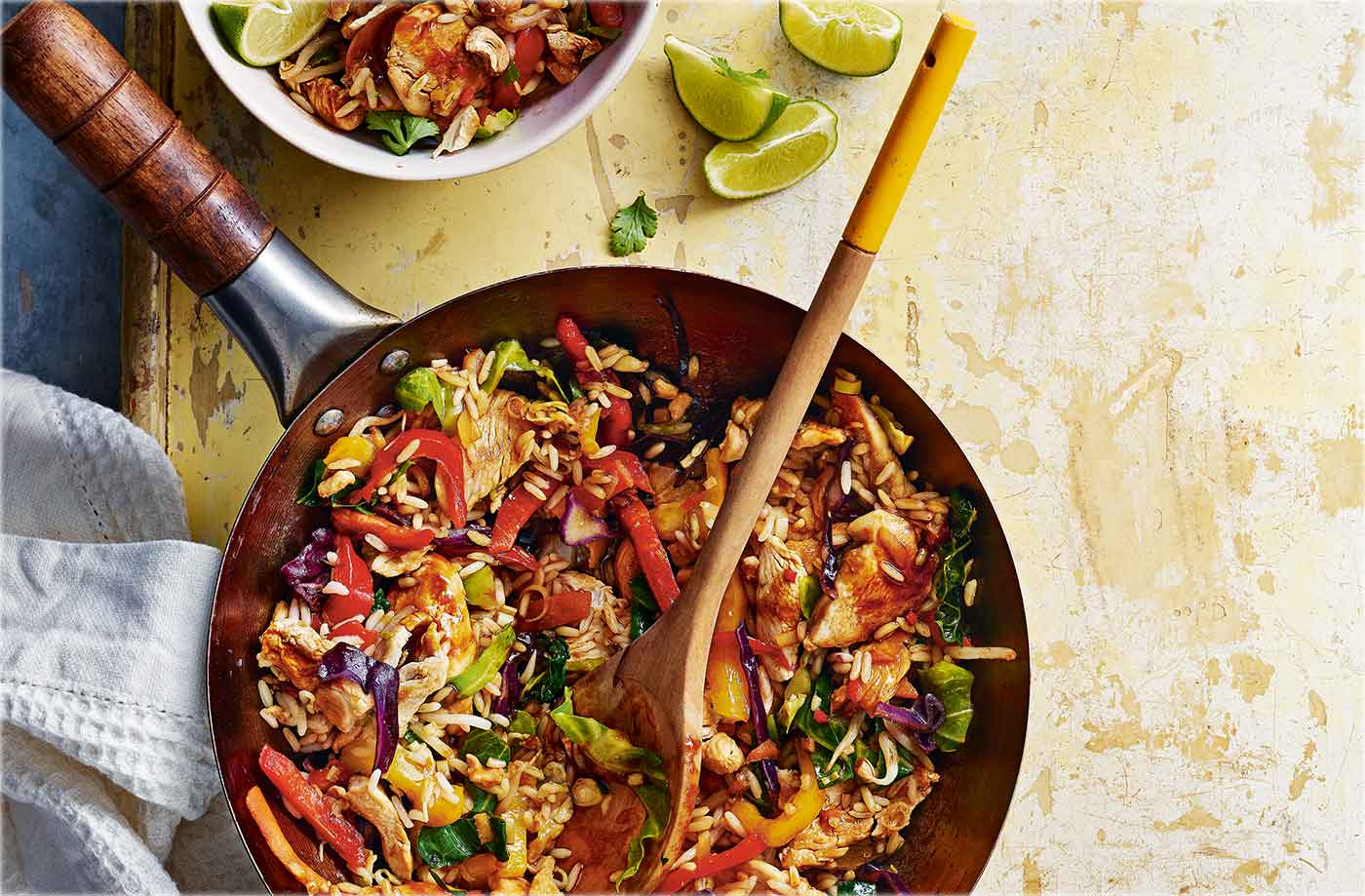Chicken Ginger And Lemongrass Fried Rice Tesco Real Food