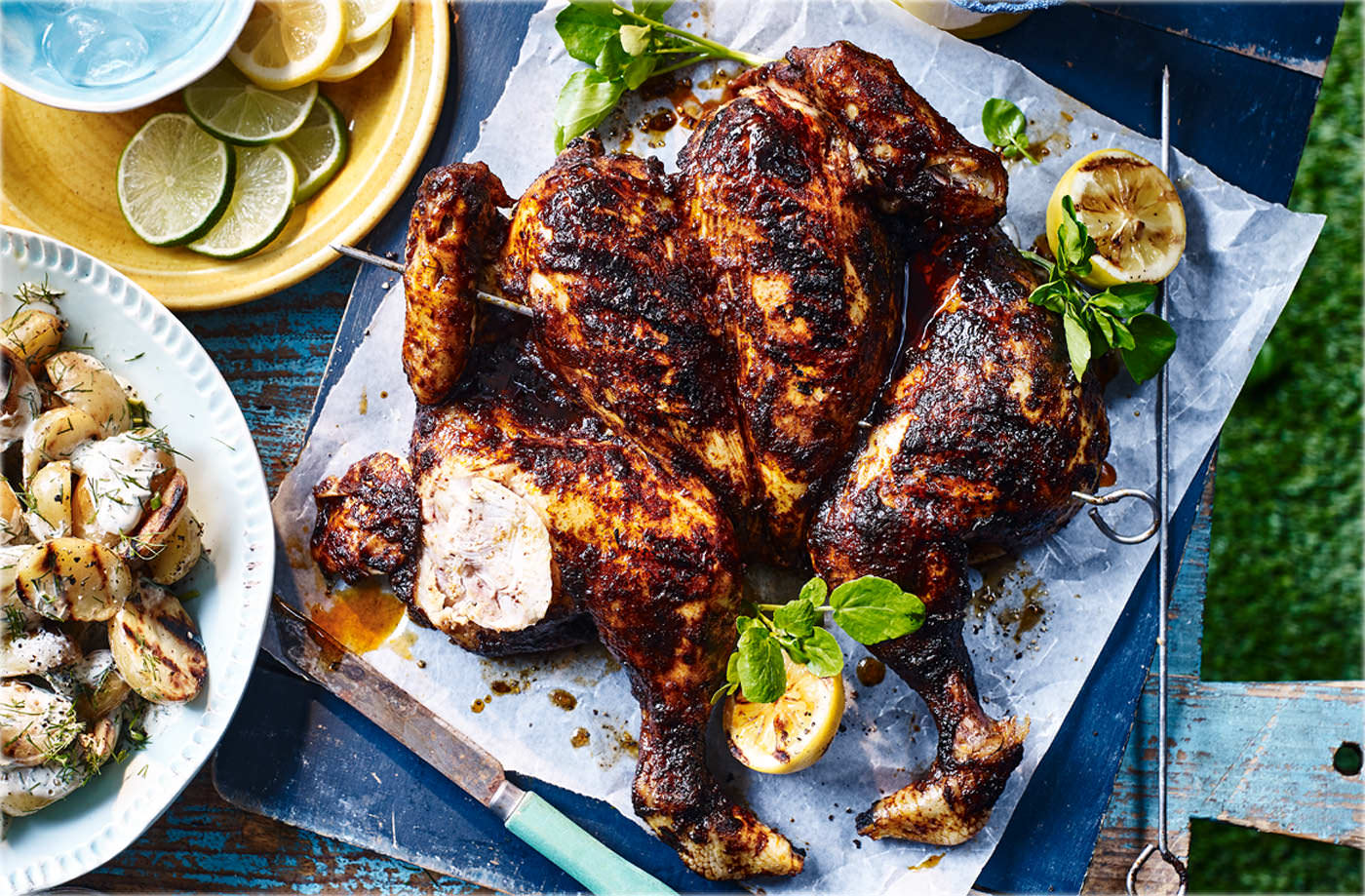 Spatchcock Chicken Recipe Bbq Ideas Tesco Real Food