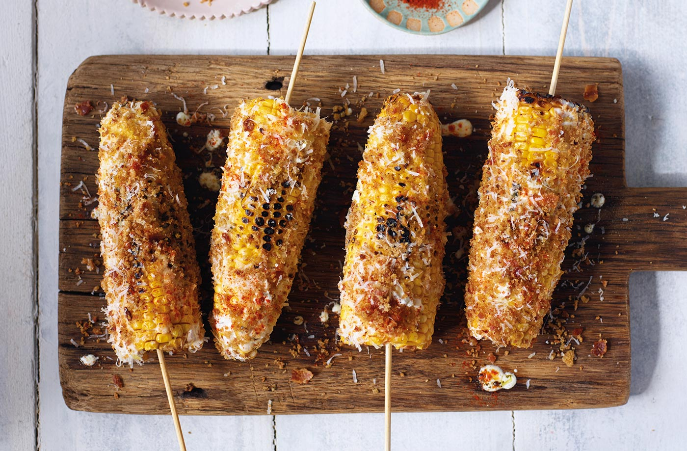 Supercharged corn on the cob recipe
