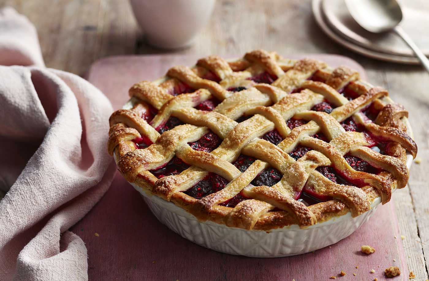 Easy berry pie recipe