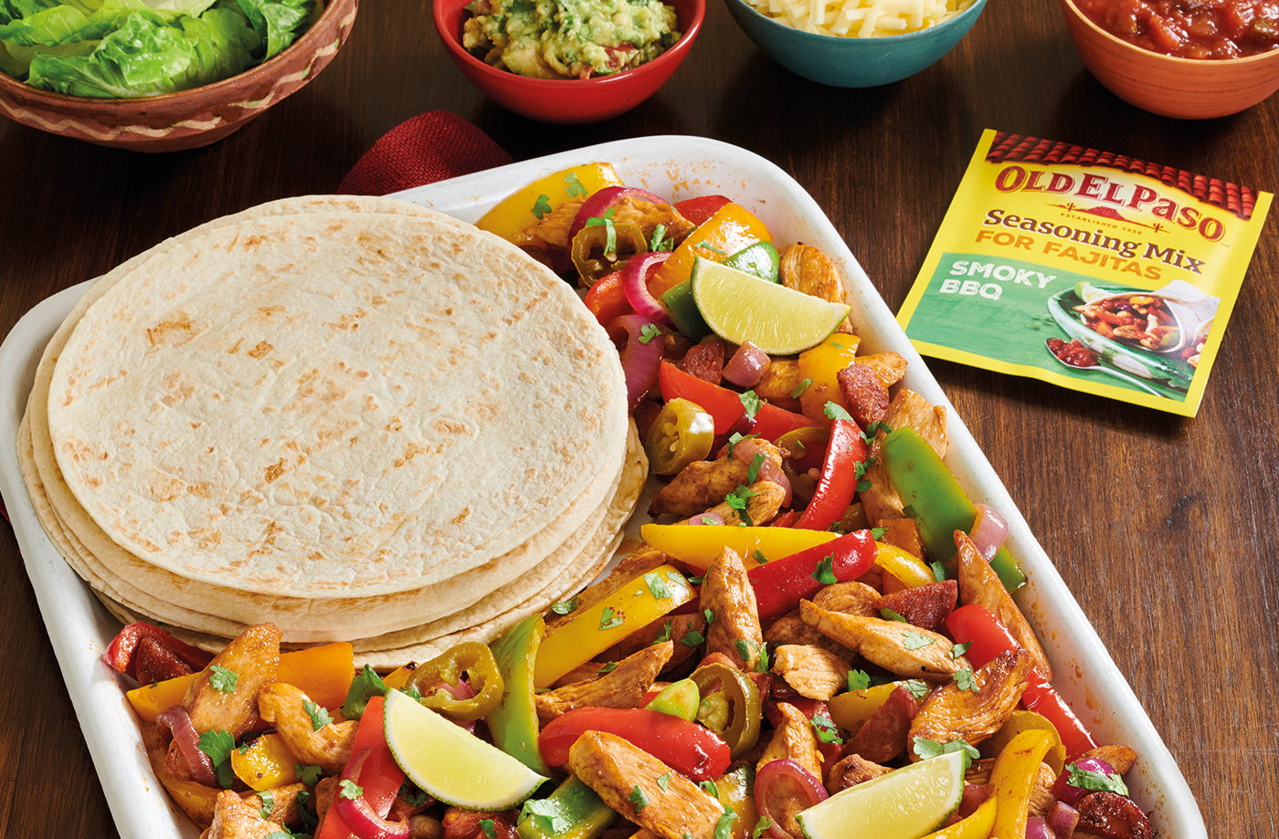 Kate's 'Friday fiesta' fajita bake recipe