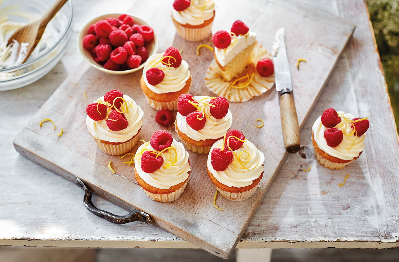 Elderflower and lemon cupcakes recipe