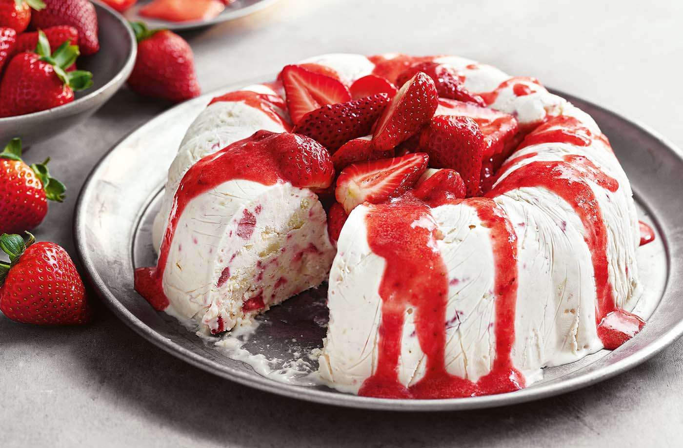 Eton mess semifreddo recipe