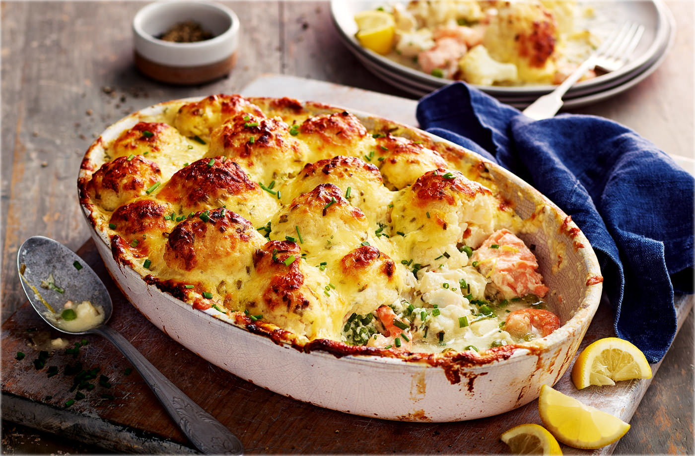 Jo's Showstopper Fish Pie Recipe | Tesco Real Food