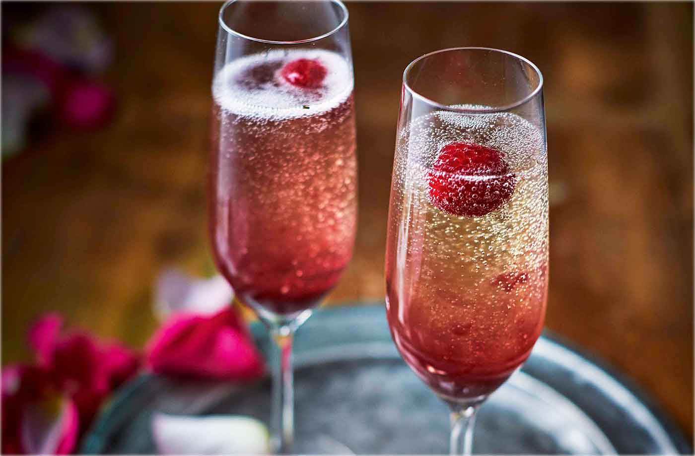 Forest fruit Bellini recipe