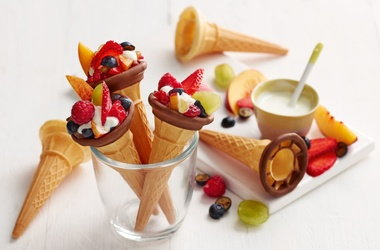 Claire's 'treat time' fruit cones