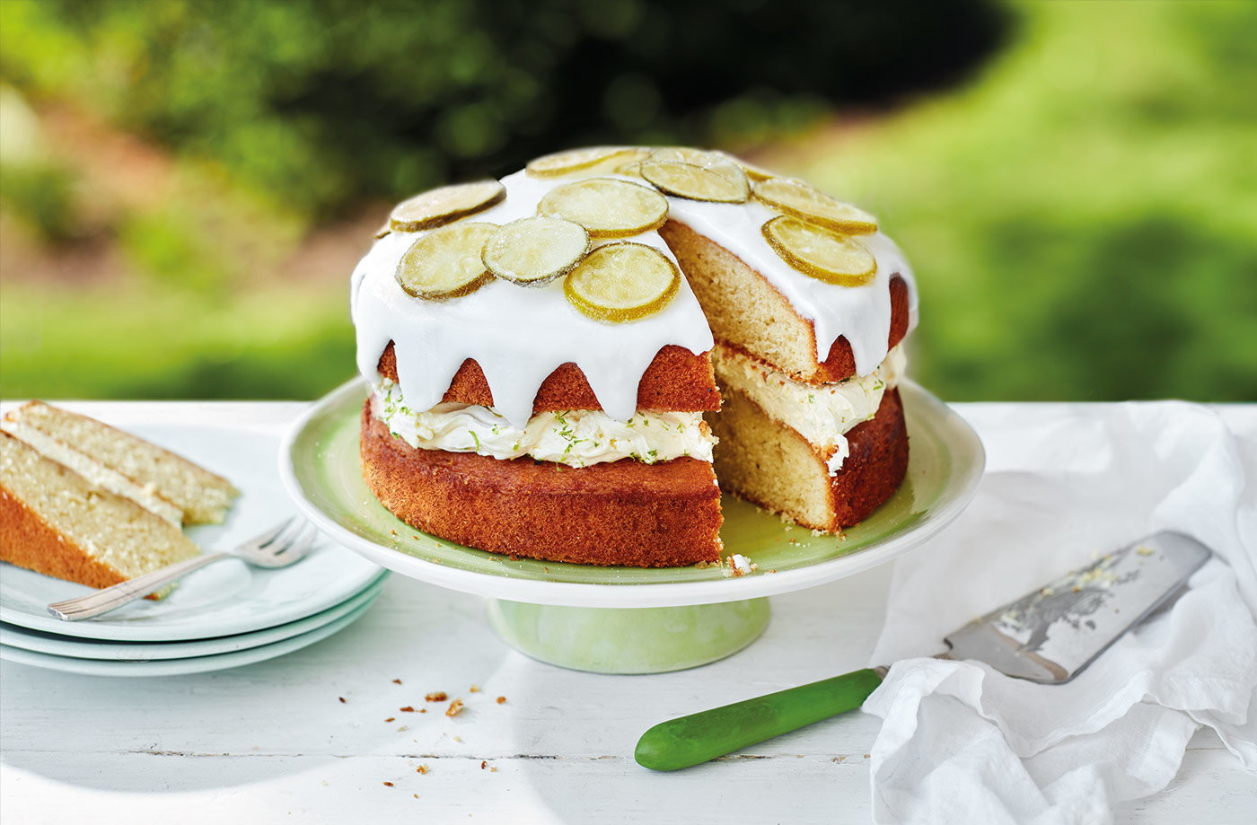Gin and tonic cake recipe