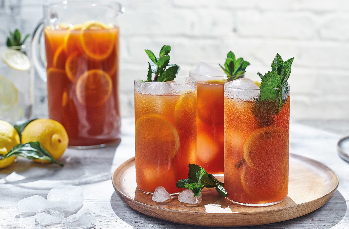 Iced Tea Recipe Drinks Recipes Tesco Real Food