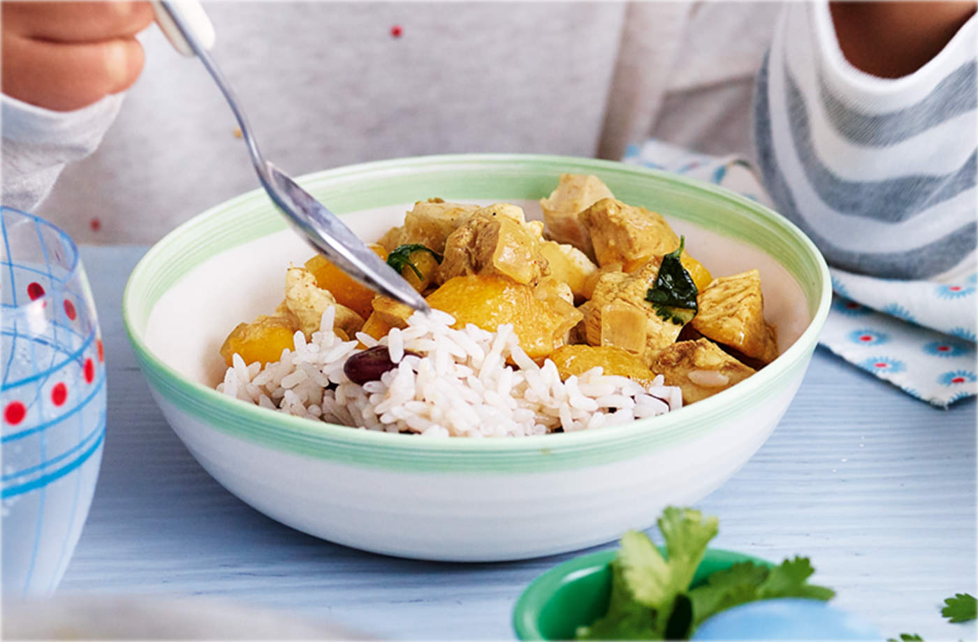 Caribbean turkey curry  recipe