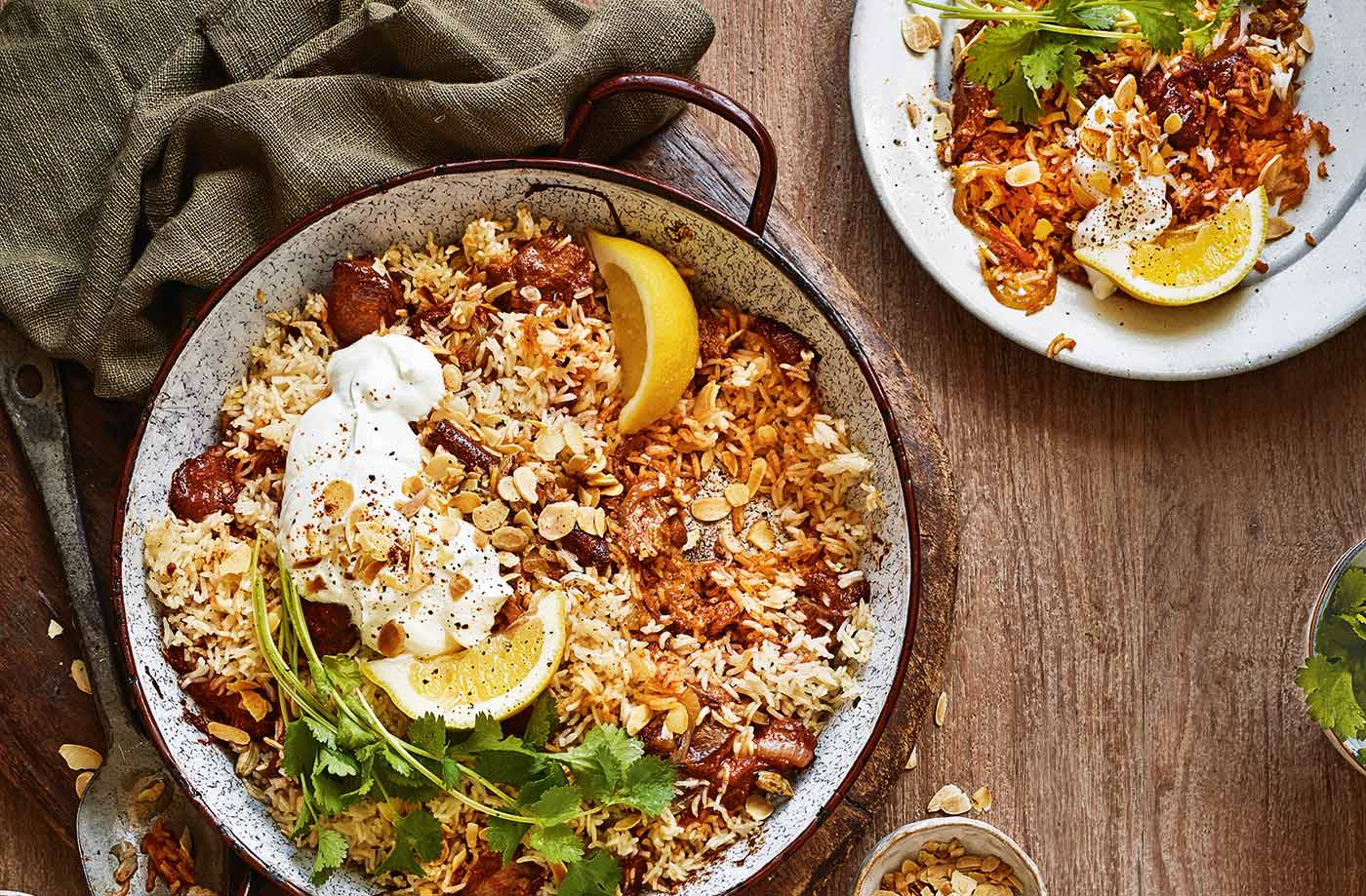 Lamb biryani bake recipe