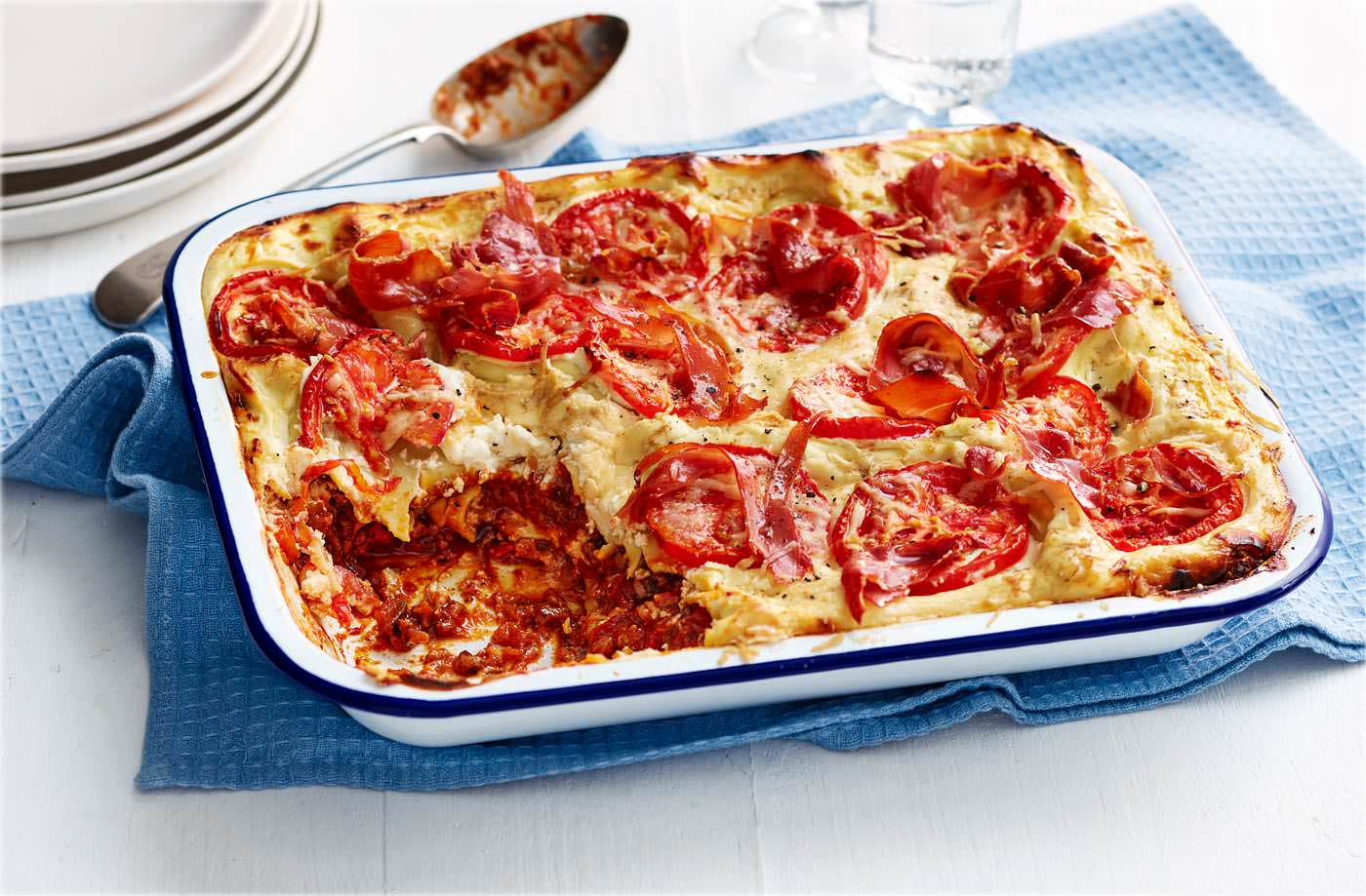 Dan and Liam's 'made for you' lasagne recipe
