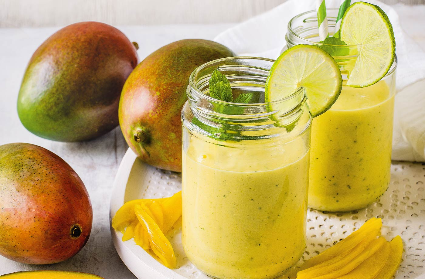 Lime and mango smoothie recipe