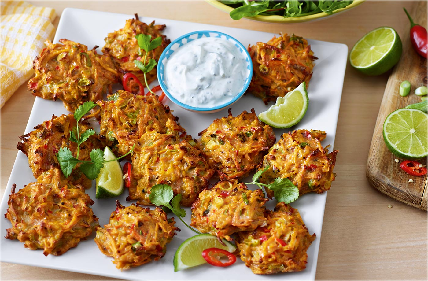 Marc S Winning Sweet Potato Fritters Recipe Tesco Real Food
