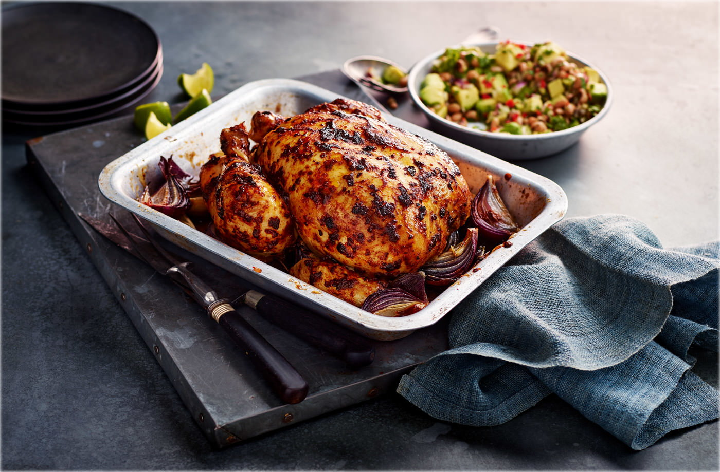 David S Mexican Roast Chicken Recipe Tesco Real Food
