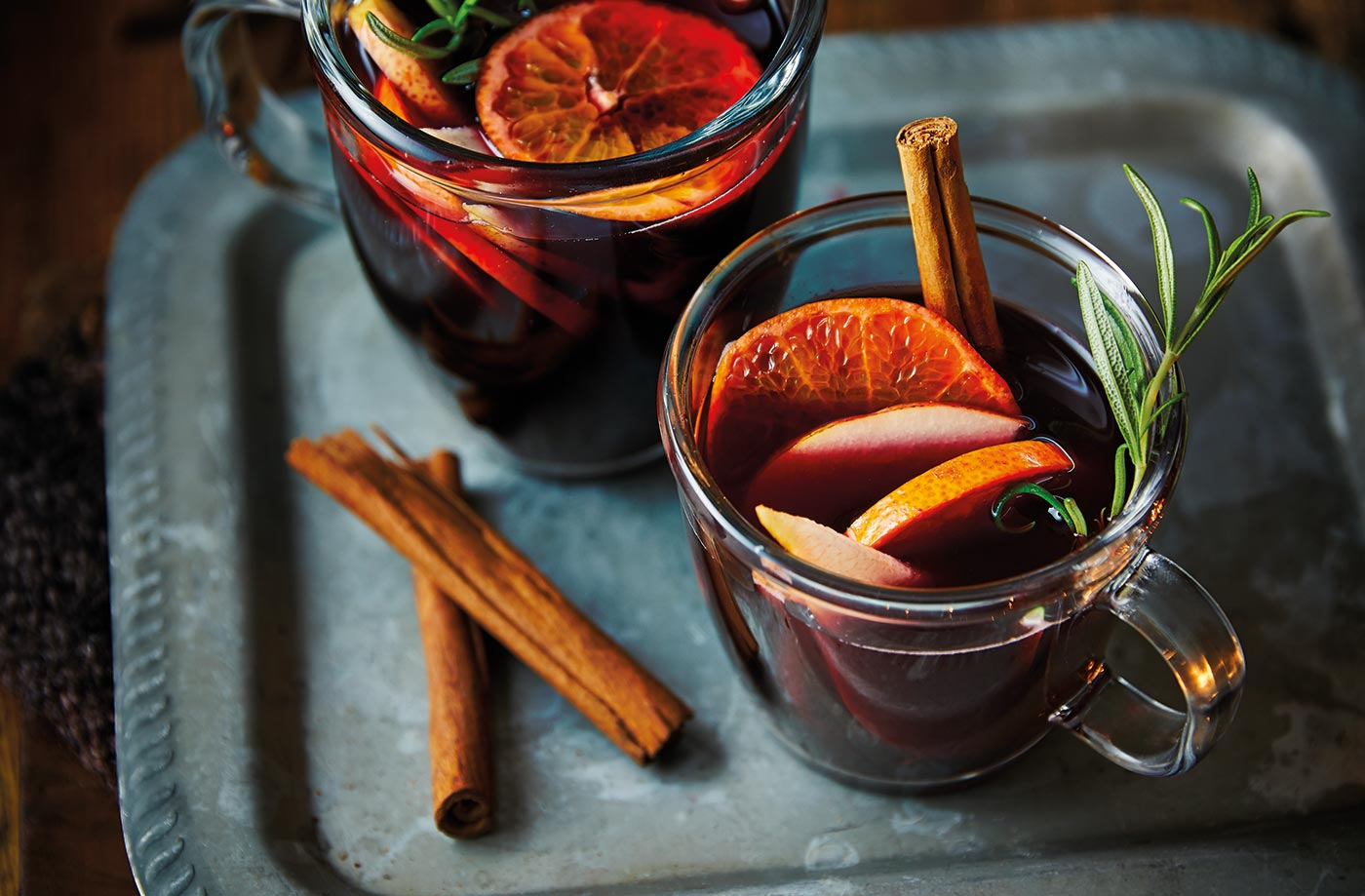 Mulled vermouth recipe