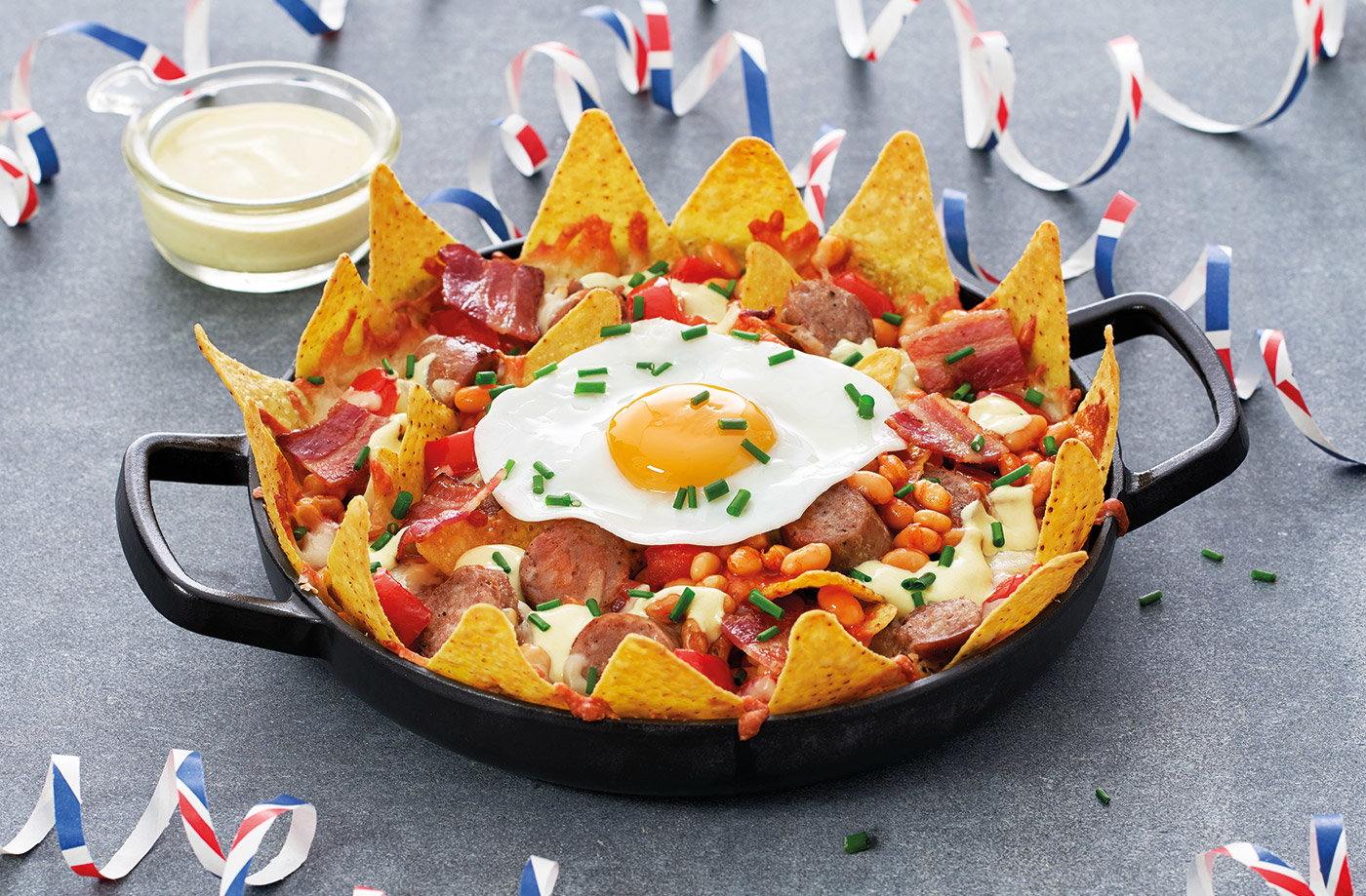 Full English nachos recipe