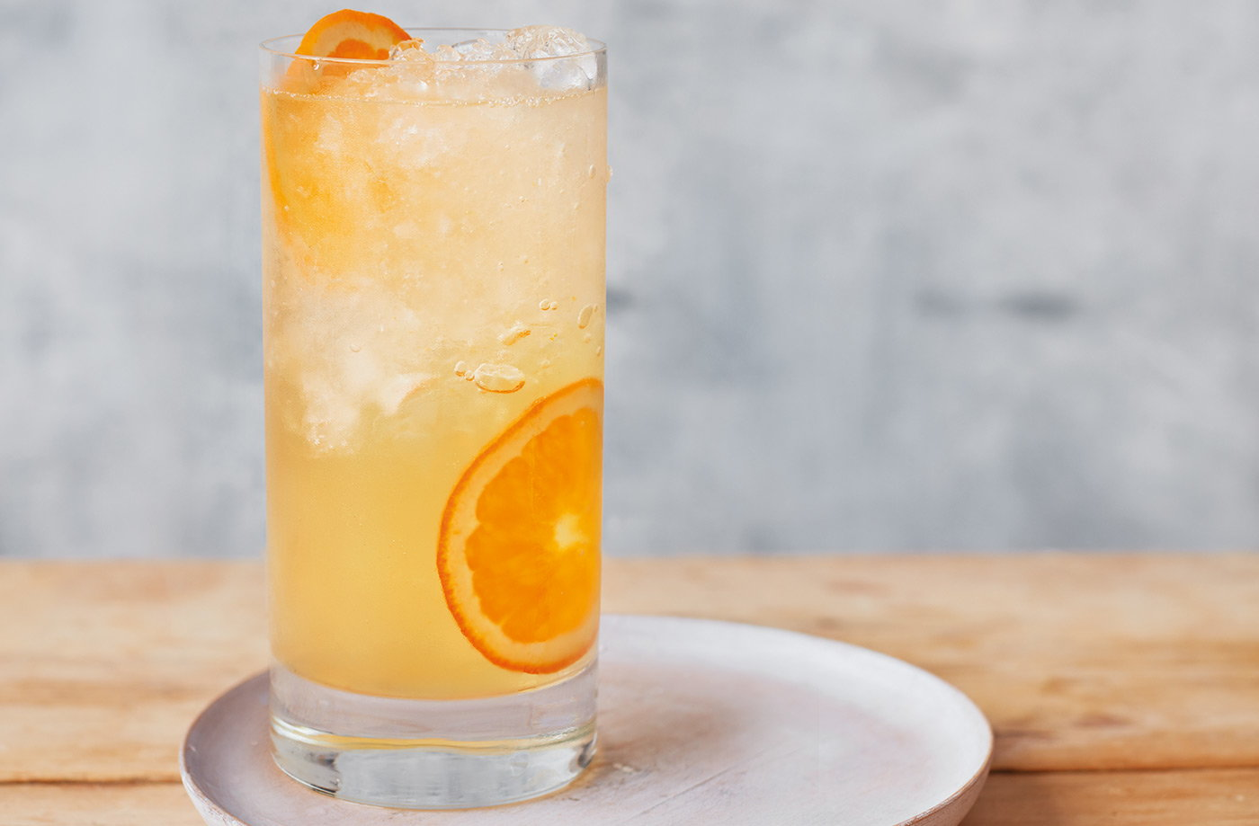 Orange and camomile gin and tonic recipe