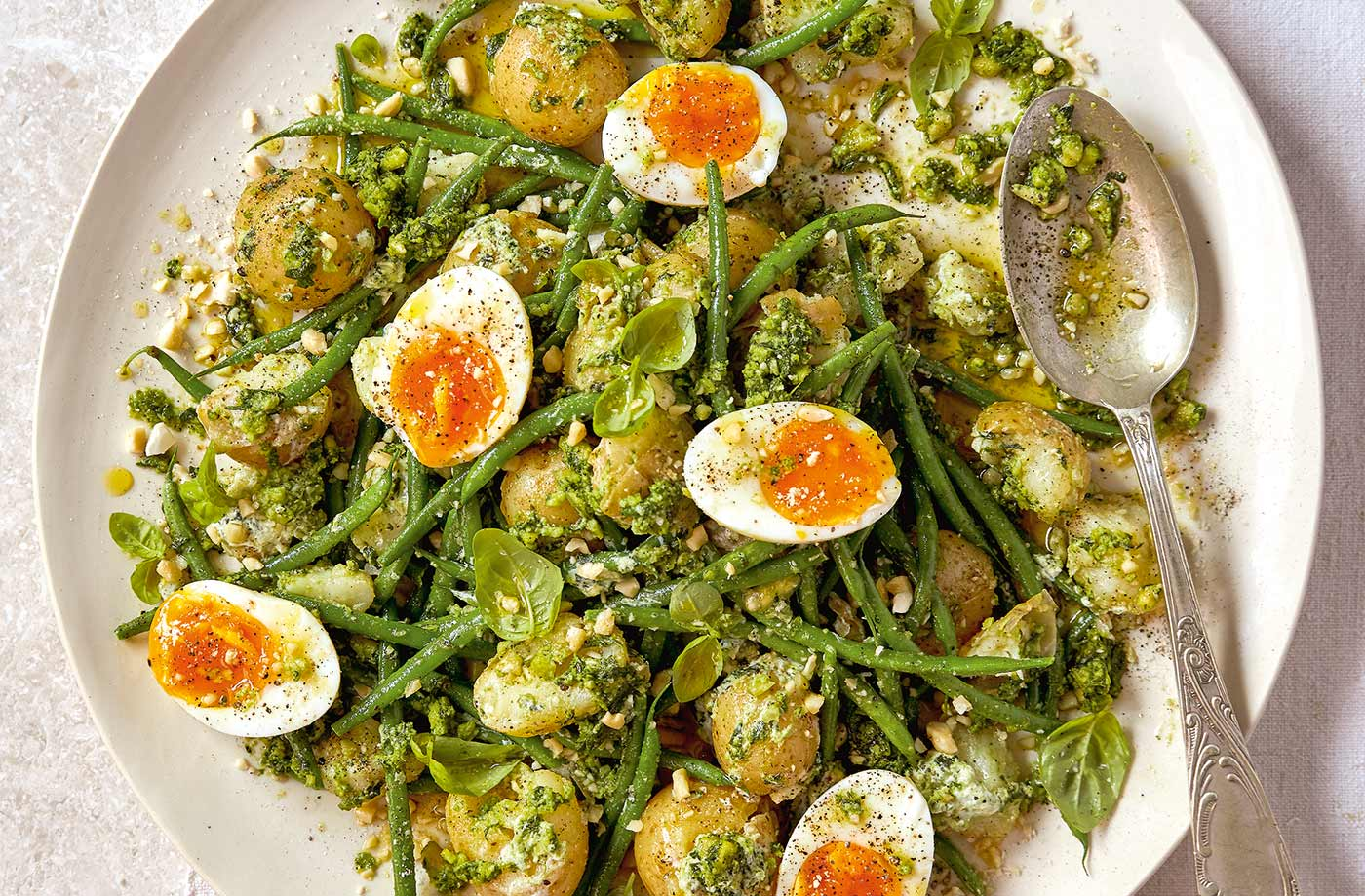 Potato And Green Bean Salad Healthy Recipes Tesco Real Food