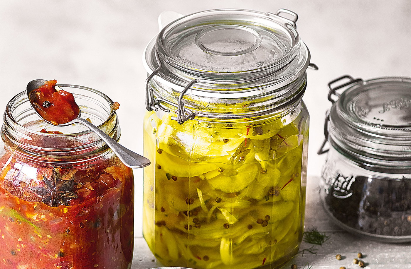 Quick cucumber and fennel pickle recipe