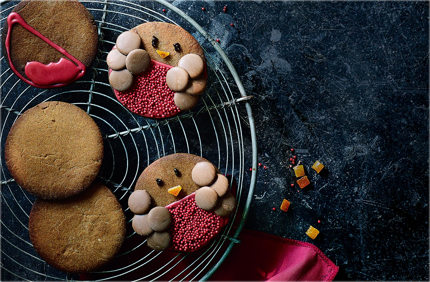 Robin gingerbread biscuits recipe