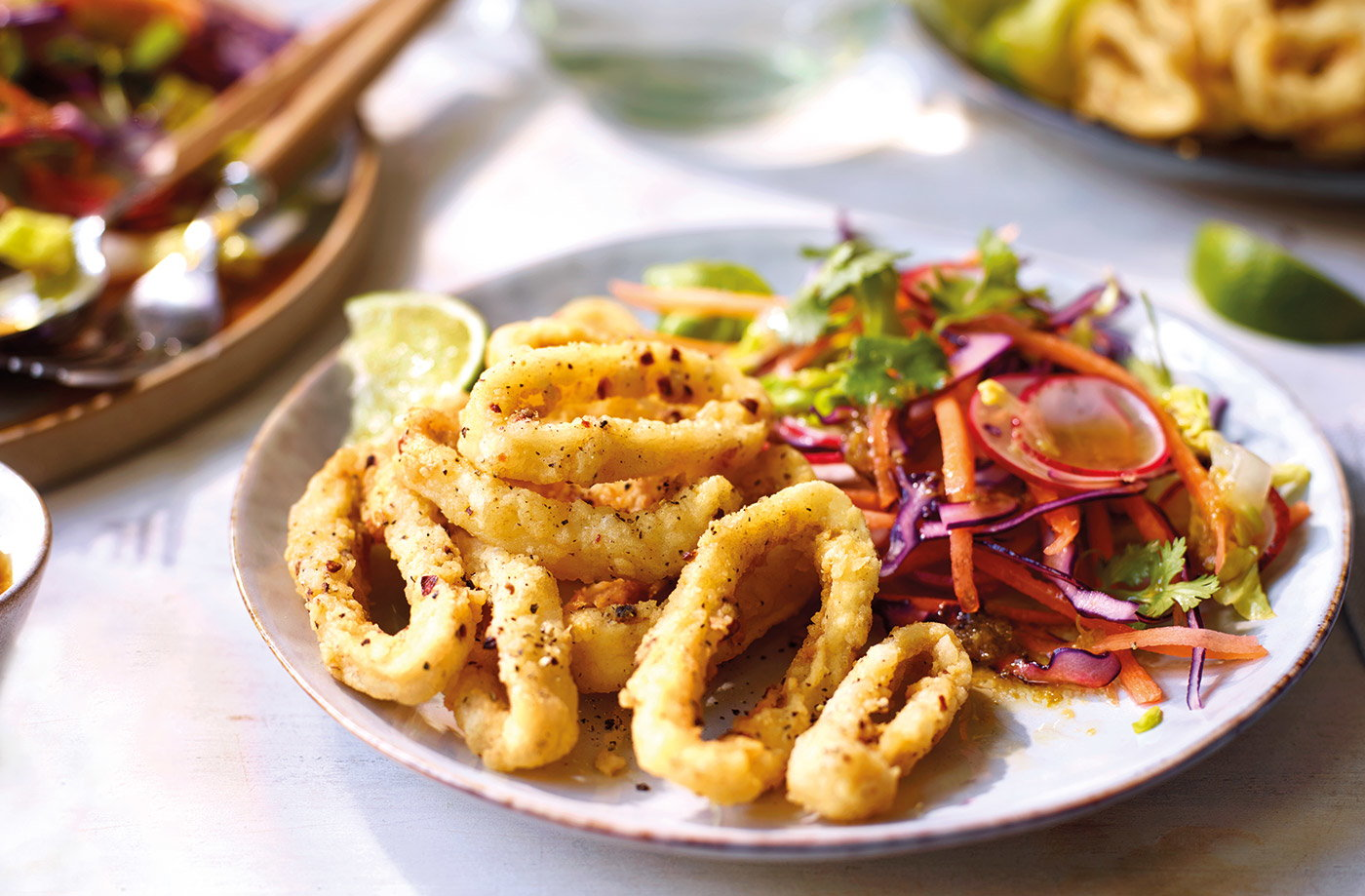 From homemade calamari to Spanish paella, make the most of squid with our tasty squid recipes.
