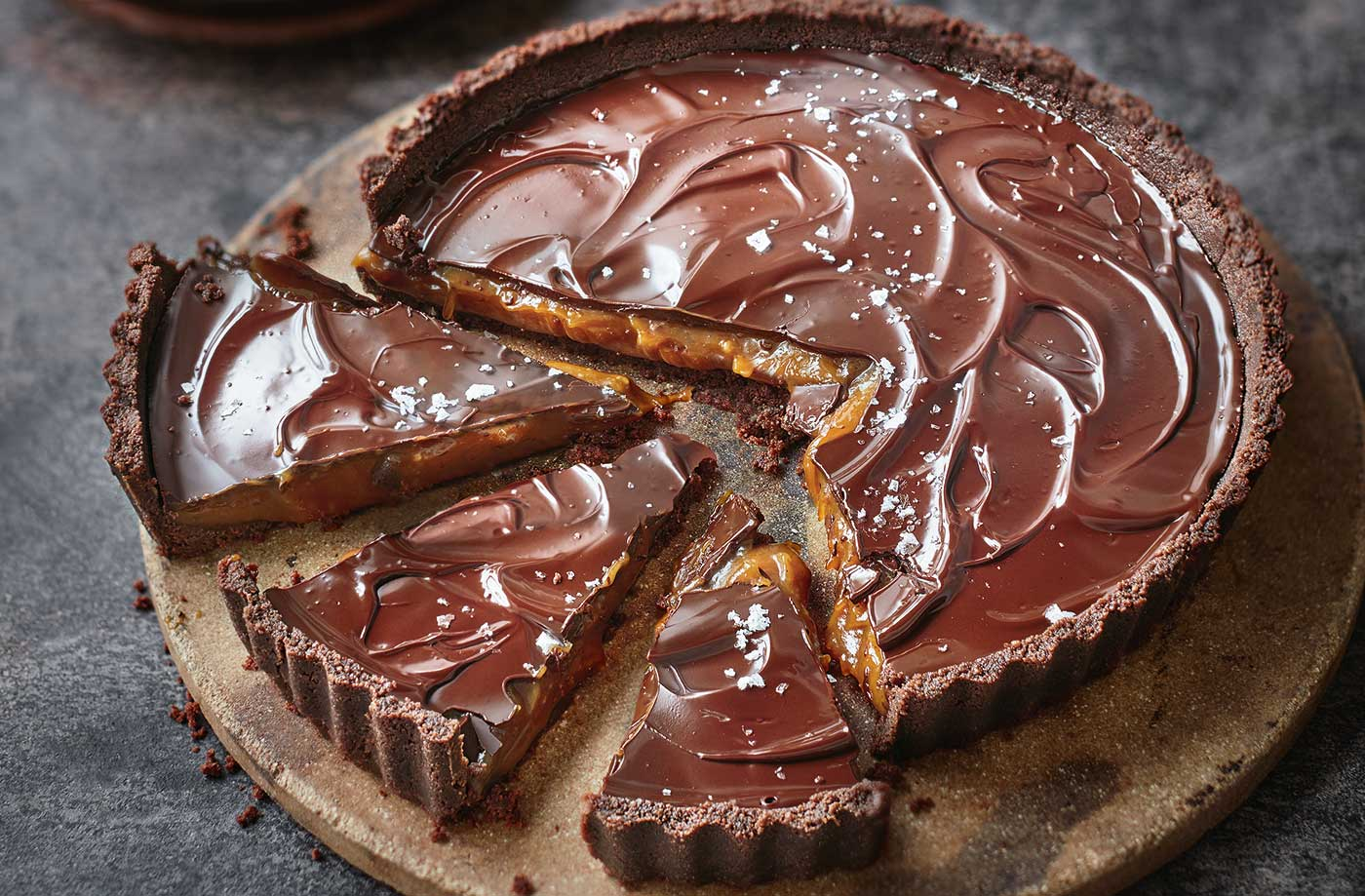 Salted Caramel Tart Recipe Salted Caramel Recipe Tesco Real Food