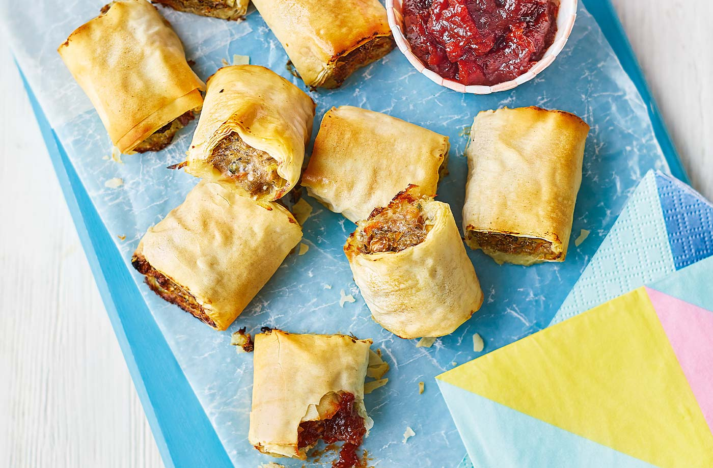 Secret-veg sausage rolls recipe